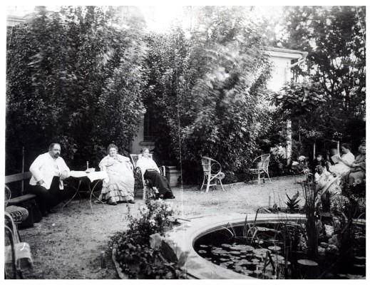 Леонтович в кругу семьи, фото 1913-1914гг.